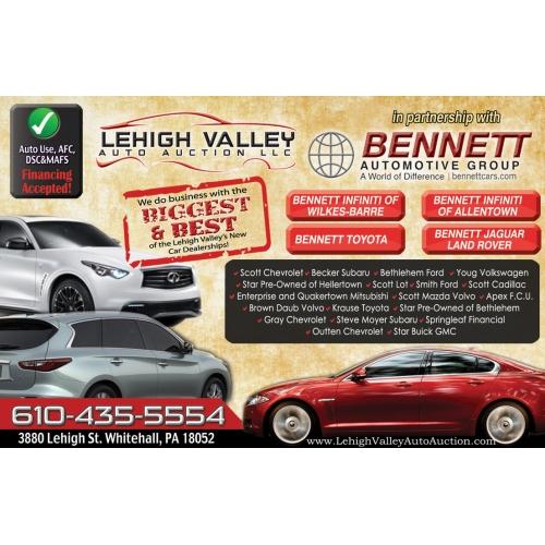 POstcard Design for Bennet Automotive
